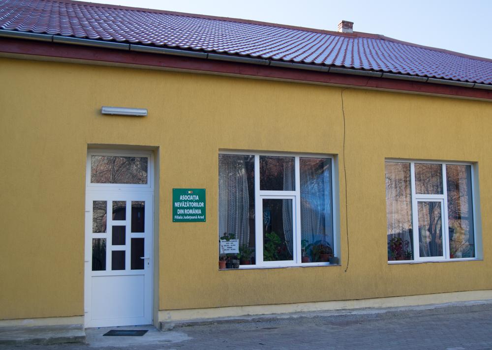 Sediul Asociaţiei Nevăzătorilor din Arad
